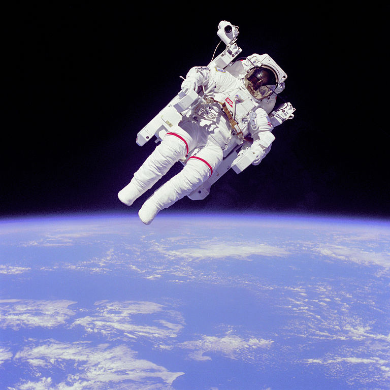 Bruce McCandless Backpacking 1984
